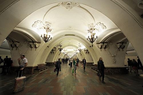 Metrostation Arbatskaja