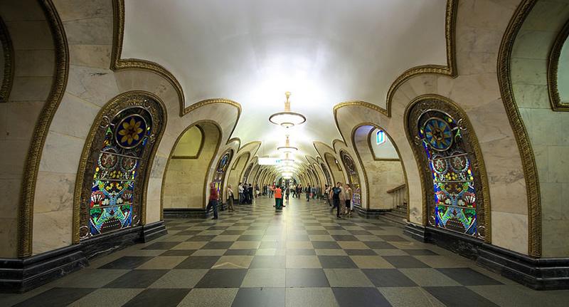 U-Bahnstation Novoslobodskaja