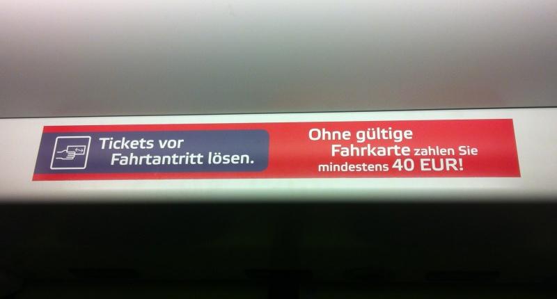 Schwarzfahren: Streitthema Nr.1 zwischen Fahrggast und Zugbegleiter