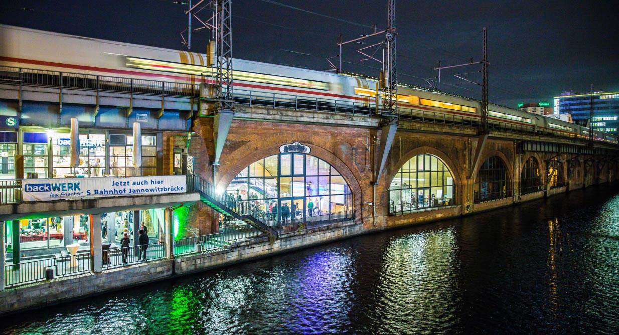 S-Bahnhof Jannowitzbrücke in Berlin