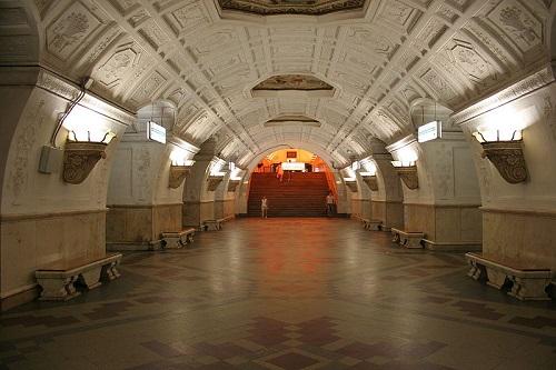 U-Bahnstation Belorusskaya