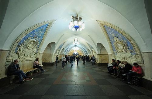 Taganskaja-Station in der Metro Moskau