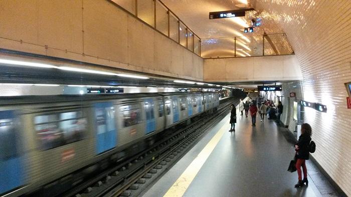 U-Bahn Lissabon