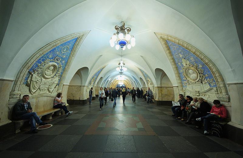 moskauer metro die u bahn der russischen hautptstadt railfreak. Black Bedroom Furniture Sets. Home Design Ideas