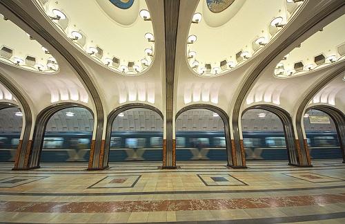 U-Bahn-Station Majakowskaja -