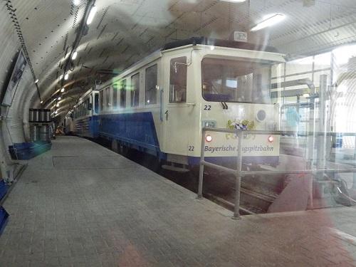 Zahnradbahn der Bayerischen Zugspitzbahn