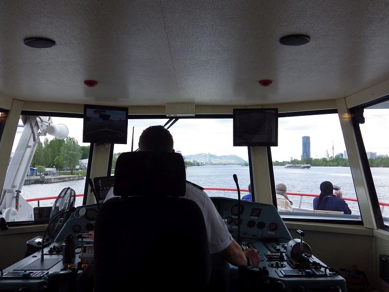 DDSG-Schifffahrt mit der MS Wien auf Donau und Donaukanal
