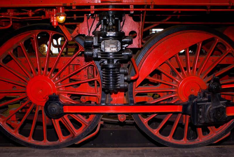 Eisenbahner-Romantik - Erfindung des Rades