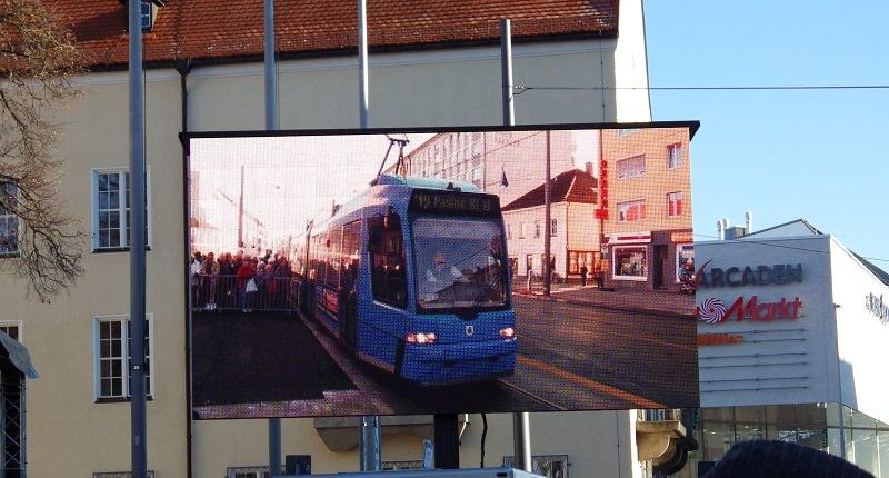 München-Pasing: großer Bahnhof zum Fahrplanwechsel
