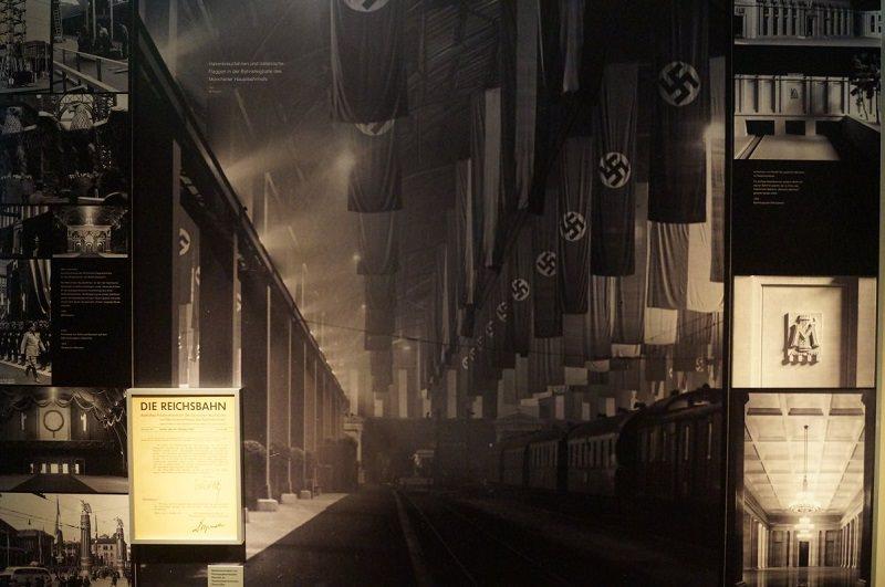 Hauptbahnhof München während des Nationalsozialismus
