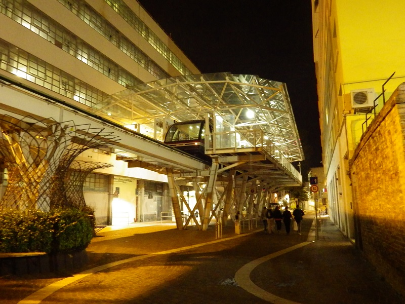 Peoplemover an der Piazzale Roma