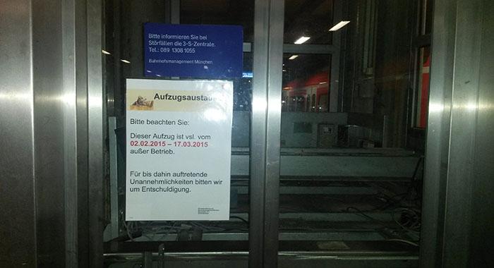 Science Fiction am Ostbahnhof München - eine Zeitreise für Bahnfahrer