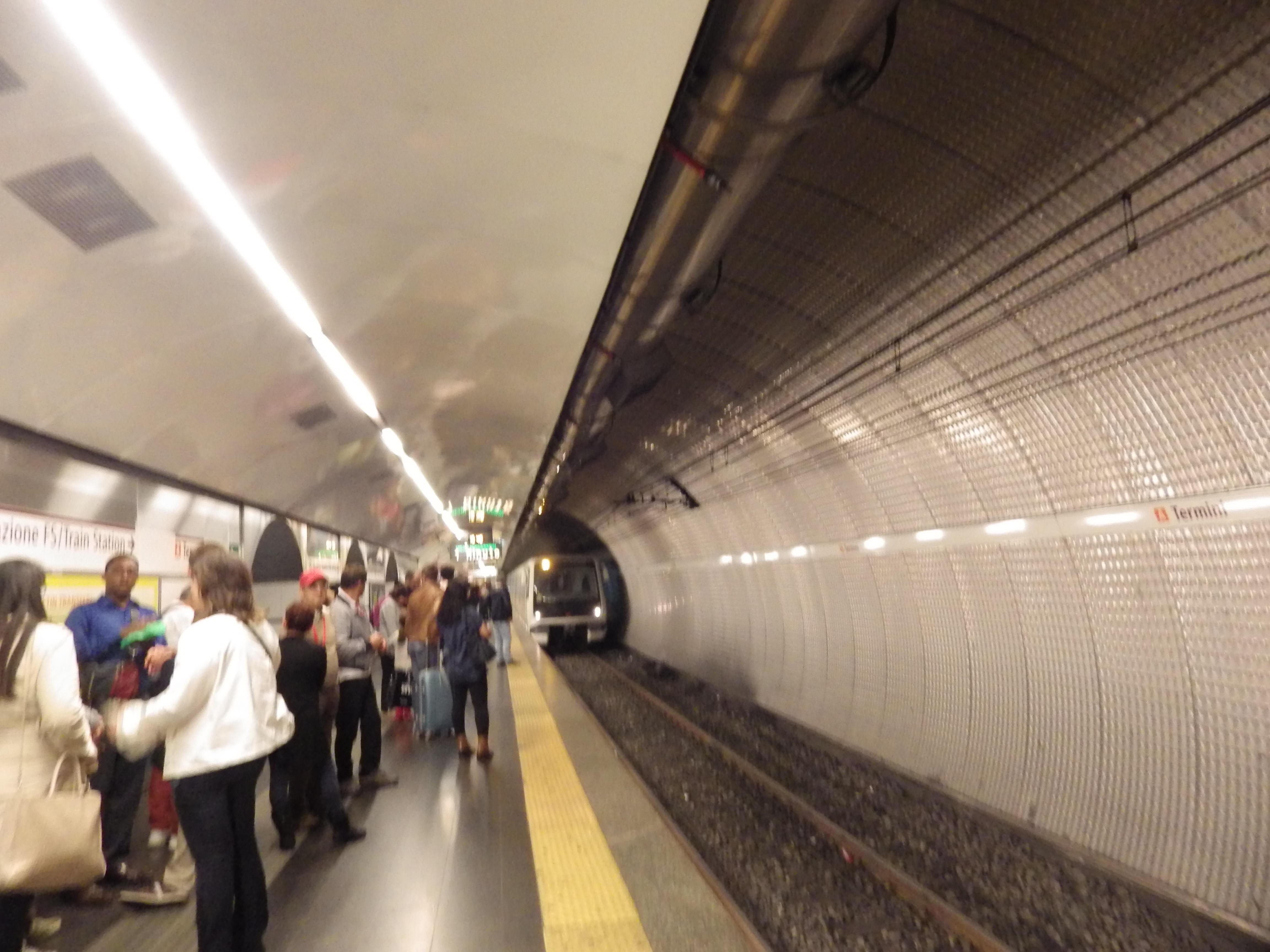U-Bahn-Station Stazione Termini Roma