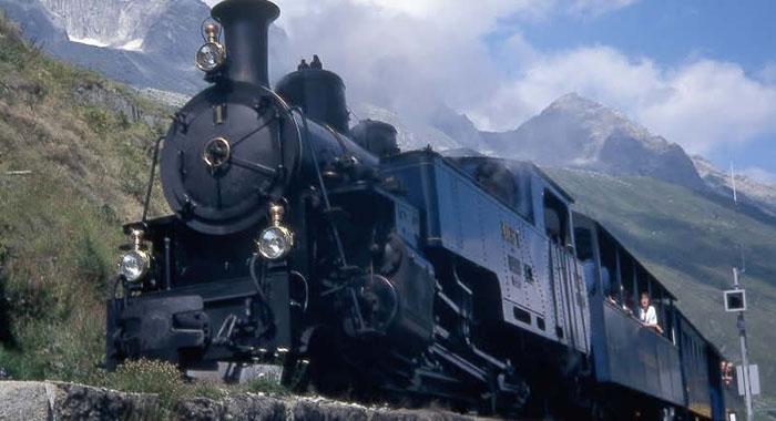 Spektakuläre Bauwerke der Schweizer Schmalspurbahnen
