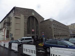 Hauptbahnhof Stuttgart - Fassade im heutigen Zustand