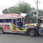 Lackierung auf Jeepney
