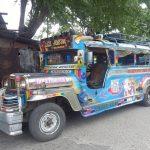 typischer Jeepney in Cebu City