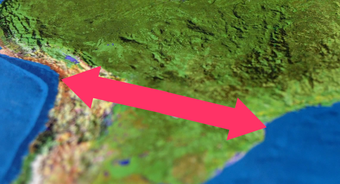 Brasilien, Bolivien undPeru planen eine Zugverbindung zwischen Atlantik und Pazifik.