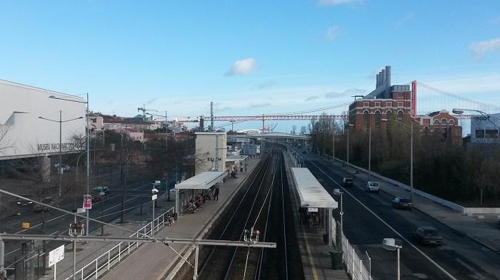 Brücke des 25. April über den Tejo in Lissabon
