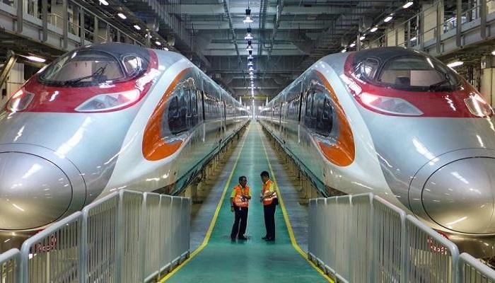 Maglev - Hochgeschwindigkeitszug in der Volksrepublik China